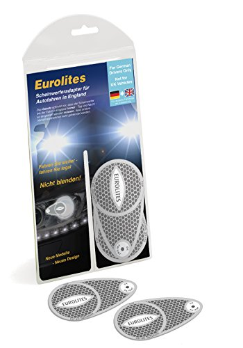 Eurolite Scheinwerfer-Adapter/-Umwandler zur Straßentauglichkeit im Vereinigten Königreich, mit deutschen Anweisungen