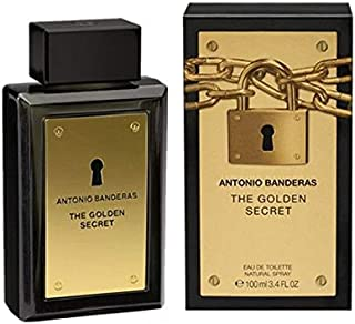 Antonio Banderas The Golden Secret - perfume for men, 100 ml - EDT Spray