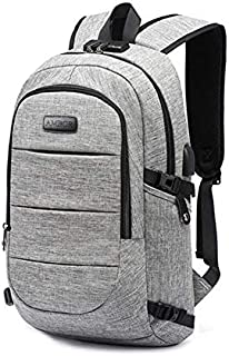 Laptop Backpack, Business Anti Theft Travel Backpack with USB Charging Port & Headphone interface for College Student for Women Men,Fits 15.6-Inch Laptop Notebook by AMBOR
