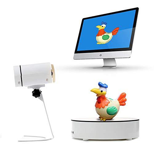 Cat-1 Vollfarb-Standard-3D-Scanner, vollautomatischer TriPro FunScan-1 mit 3 Millionen Pixeln, unterstützt eine Taste zum 3D-Druck.
