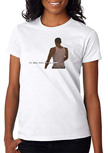 Oh, Here We Go Again Game Character Artwork Camiseta para Mujer