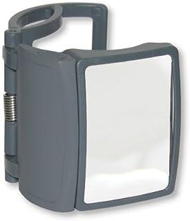 Carson MagRX vergrootglas met klemvoorziening en led-verlichtingsfunctie voor het vergroten van etiketten op medicijnconta...
