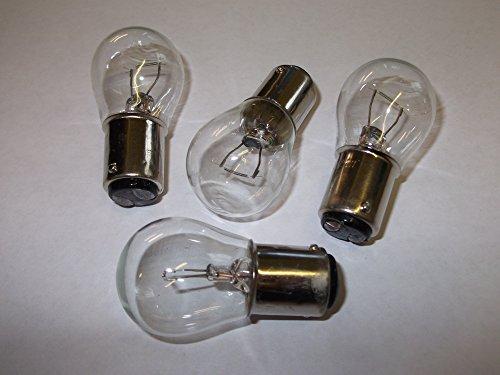 4 x 335 Bulb Stop/Flasher 12v 12 Volt 21w SBC BA15D Auto Bulb