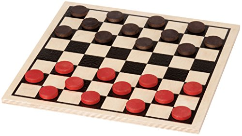 Our #6 Pick is the Maple Landmark Basic Checkers Set