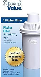 Great Value Pitcher Filter