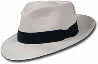 6ec0911d189 Ultrafino PORTOFINO RETRO Panama White Straw Hat CROWN C