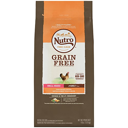 Nutro Grain Free Small Breed Adult Farm-Raised Chicken