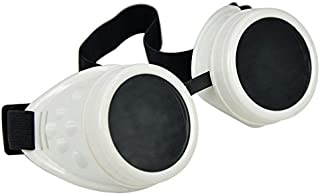 IMJONO Lunettes Vintage Style Steampunk Goggles Lunettes Punk Cosplay Divers Couleur
