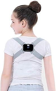 AUSELECT Posture Corrector for Adults/Kids,Back Adjustable Smart Corrector with Intelligent Sensor Vibration Reminder, Bac...