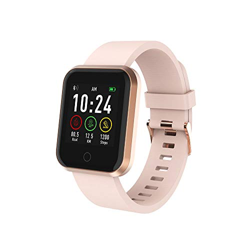 Relógio Smartwatch, Multilaser, Roma, Atrio, Android/IOS, Rosê