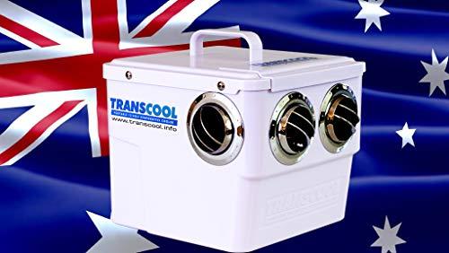 Transcool EC3-Plus - Enfriador de aire, ligero, 1,5 kg, para caravanas, acampada y barcos