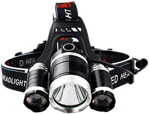 HUIZHANG Headlamp Sales of SALE items from new works Most Powerful LED headlamp T6 Headlight Large-scale sale 3