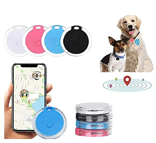 FRSH MNT Pet Tracker GPS Locater Dog Finder No Monthly Fee with Fence Alarm App Control Design Waterproof Dustproof Dog & Cat Smart Collar Device for Tracking Real time Activities Routes & Safety (BK)