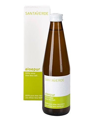 SantaVerde AloePur 100% reiner Aloe Vera Saft
