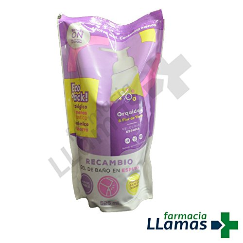BETRES ON GEL BAÑO ESPUMA ORQUIDEA B3ON RECAMBIO ECOLOGICO 525ML