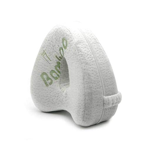 Premium Memory Foam Knee Pillow   Bamboo Fibre Pillow Cover   Ergonomic  ...
