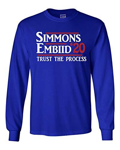 Long Sleeve Blue Philadelphia Simmons 2020' t-Shirt Adult