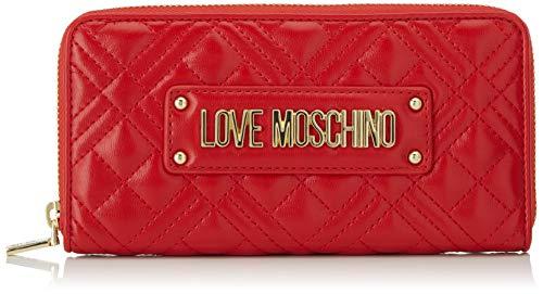 Love Moschino Jc5600pp1a, Portafoglio Donna, Rosso (Rosso), 2x10x19 cm (W x H x L)