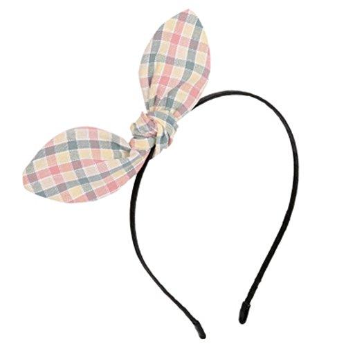 Corée du Sud Petit douces fraîches Rabbit Ears Bandeau, Corde de cheveux A
