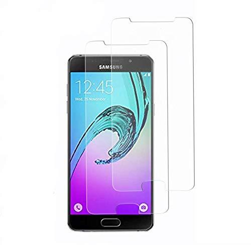 Didisky Pellicola Protettiva in Vetro Temperato per Samsung Galaxy A5 (2016) [2 Pezzi] Protezione Schermo [Tocco Morbido ] Facile da installare, Trasparente