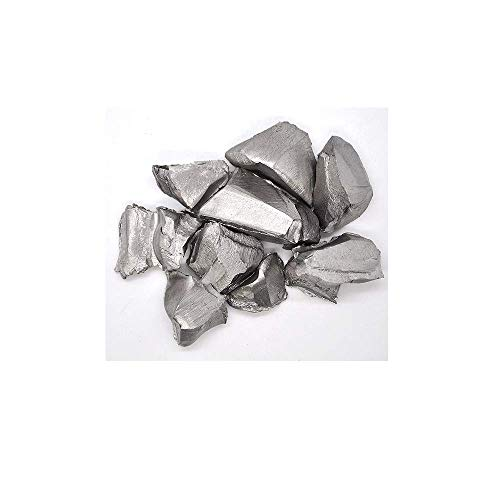 """Niobium Metal, 99.99% Pure Niobium – Pieces Sized 12mm (.5"""") or Smaller - 1 Kg"""