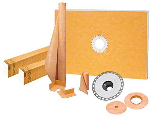 "Schluter Kerdi-Shower Kit 38"" x60"", PVC Flange"