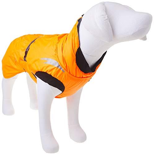 Hurtta Summit Parka Dog Winter Coat, Orange, 20 in