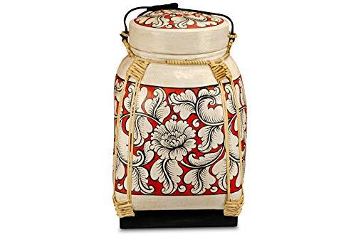 Bambus Reis Korb - Vorratsbehälter - 6 Verschiedene Größen - Vorratsdose für Küche, Kinderzimmer oder auch Badezimmer (XXL)