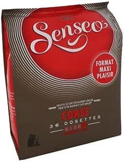Senseo Coffee Pods (3 Packs of 36) 3x36=108 Pods - Maison Du Cafe (Corsé (Dark Roast))