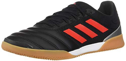 adidas Indoor Copa 19.3 Sala per Interni, Core Black/Solar Yellow/Gum M1, 39.5 EU, Nero (Nero/Rosso Hi-RES/Argento Metallizzato.), 38.5 EU