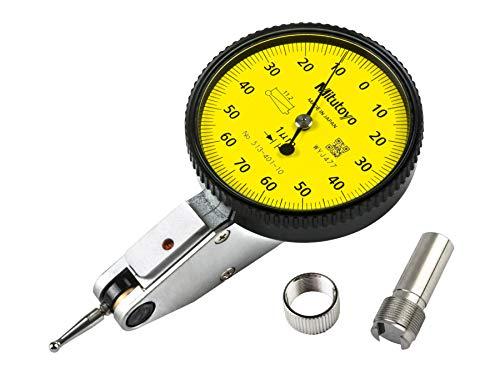 Mitutoyo 513-401-10E - Indicatore di prova orizzontale, stelo da 8 mm