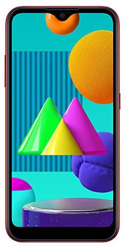 Samsung Galaxy M01 (Red, 3GB RAM, 32GB Storage) with No Cost EMI/Additional Exchange Offers
