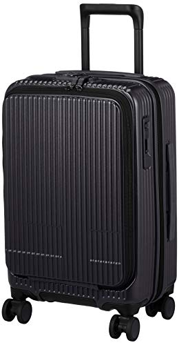 [イノベーター] スーツケース 機内持込サイズ スリムフロントオープン 多機能モデル INV50 保証付 38L 49.5 cm 3.3kg ダークネイビー