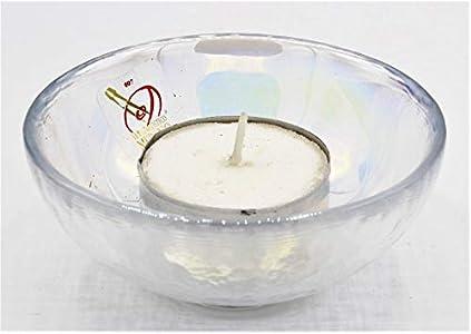 Murano Collection - Cuenco Yalos color cristal de Murano fabricado en Italia