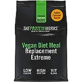 Sustitutivo de Comida Dietético Vegano Extreme | Batido bajo en calorías para perder peso | Vitaminas & minerales esenciales | THE PROTEIN WORKS | Caramelo Salado | 500g