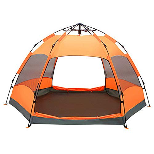 XINCHAOZ Pop Up Zelt Familienzelt Camping Zelt Tunnelzelt Für 5-8 Personen Vollautomatisch/Sonnenschutz/Anti-Lichtregen