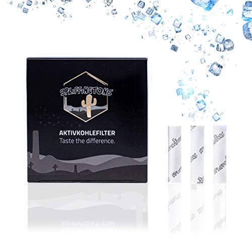 Spliffingtons Aktivkohlefilter - der Premium Filter - wissenschaftlich geprüfte Aktivkohle - 54Stk- perfekter Durchzug, kein Verstopfen -Taste the Difference