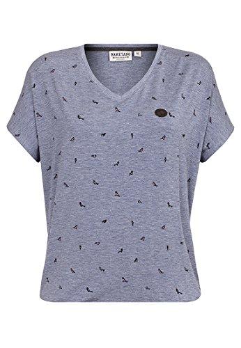 Naketano Damen T-Shirt Tante Emma Fladen T-Shirt