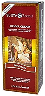 Surya Nature Henna Burgundy Cream - 2.37 Ounce