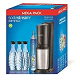 Sodastream Crystal Sparkling Water Maker with Gas Cylinder Megapack