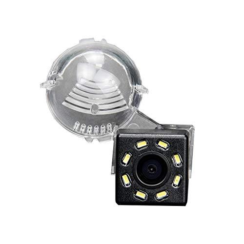 HD 720p Nachtsicht Rueckfahrkamera Wasserdicht Farbkamera 170° Rückfahrkamera Kennzeichenleuchte Einparkhilfe Kamera für Suzuki Jimny XL-7 for Grand Vitara SX4 S-Cross 07-14