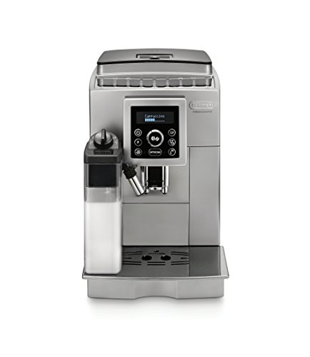 De'Longhi ECAM23460SL-X Refurbished Digital Super Automatic Machine With Lattecrema System, Silver