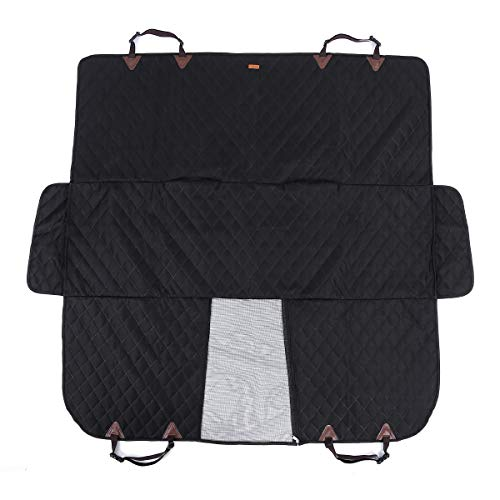 SPRAOI Car Seats Pet Scratch Protection Pet Mat Waterproof Dog Car Seat Cover Pet Travel Car Covers Blanket