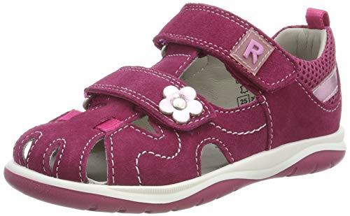 Richter Kinderschuhe Mädchen Babel Geschlossene Sandalen, Pink (Lampone/Candy 7701), 24 EU