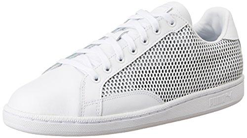 Puma Match 74 Summer Shade, Zapatillas Unisex Adulto, Blanco White Black 02, 43 EU