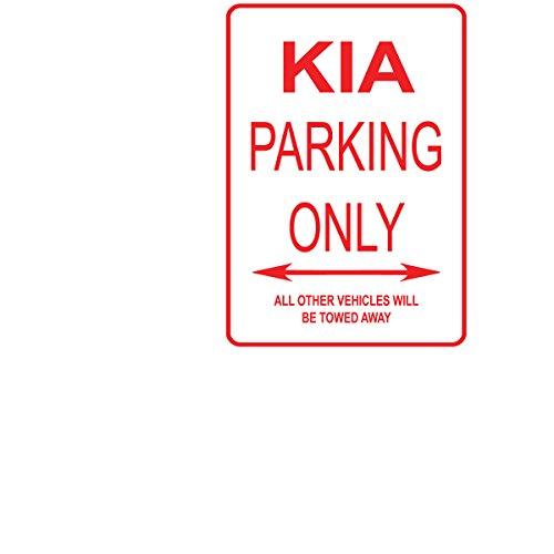 Adept Mechanism KIA Parking Only Aluminium Straßenschild