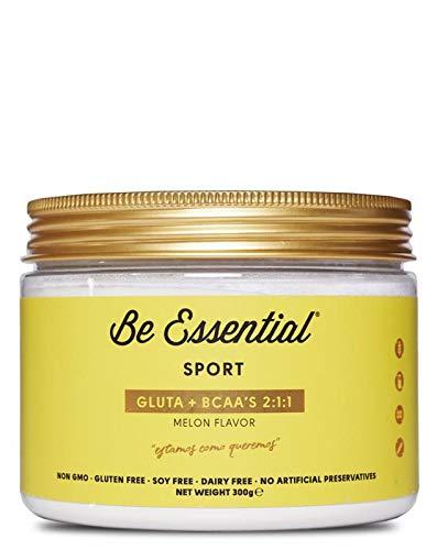 Be Essential - GLUTA & BCAA´S 2.1.1 –Sabor melón, 300 g