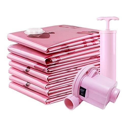 Huixindd Viaje Armario Bolsa de Almacenamiento Ropa Bolsa de vacío Vacuum Bolsa de compresión Bolsa de Almacenamiento Ropa Bolsa de Equipaje Herramientas para el hogar (Color : 100X80)