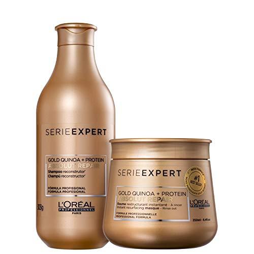 Kit L'Oréal Professionnel Serie Expert Absolut Repair Gold Quinoa + Protein Instant Resurfacing (2 produtos)