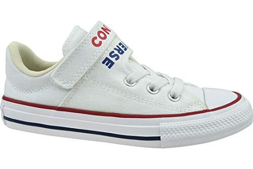 Converse 666927c_29, Zapatos de Tenis Unisex niños, Blanco, EU